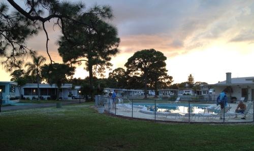 Tropicana sunset