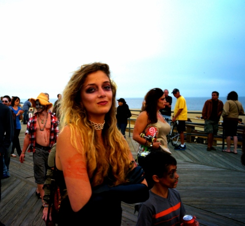 Portrait of a Zombie. Asbury Park, 2013. By Paul Goldfinger ©