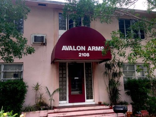Avalon Arms.  Ft. Myers downtown.  By Paul Goldfinger.  March, 2015. ©