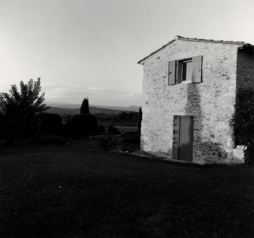 Provence, France. Photograph by Paul Goldfinger. 1999. © silver gelatin print.