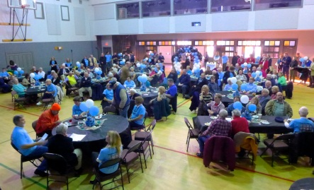 Youth Temple: Community joins together to raise money after Sandy. c. 2014 Paul Goldfinger photo