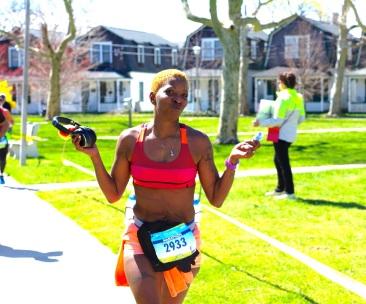 NJ Marathon 2015. Ocean Grove.  Blogfinger photo ©