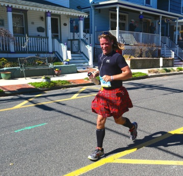 NJ Marathon 2015, Ocean Grove.  Blogfinger photo ©