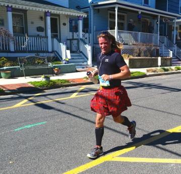 NJ Marathon 2015, Ocean Grove.  Blogfinger photo ©
