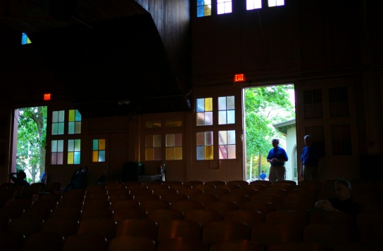 Inside out: The Great Auditorium of Ocean Grove. Paul Goldfinger photo.©