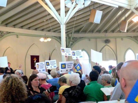 RAlly on September 3, 2007. Tabernacle. Paul Goldfinger photo.©