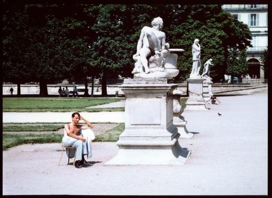 Left Bank, Paris.  c. 1998.  By Paul Goldfinger ©