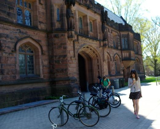 Princeton University Campus. April 2015. Paul Goldfinger photo ©