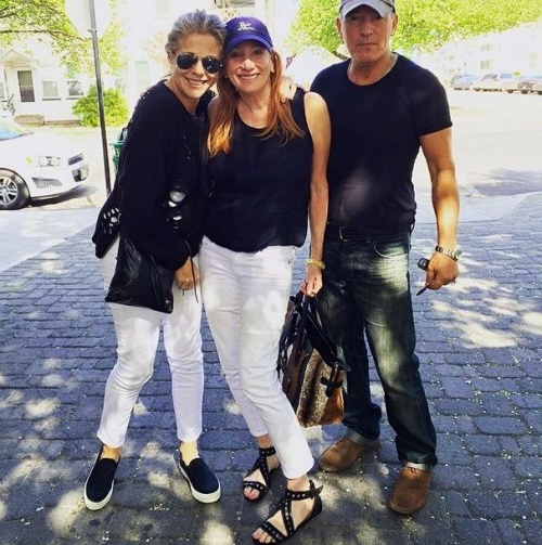 Rita Watson (L), Patty Scialfa and Bruce Springsteen.  Submitted by Stan Goldstein
