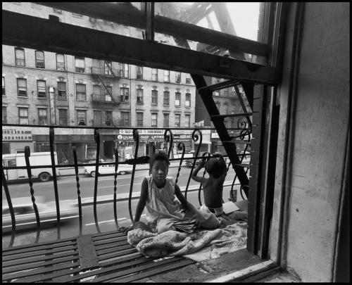 East 100th Street by Bruce Davidson. ©