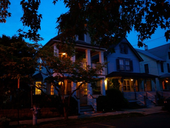 Mt. Hermon Way.  May, 2015 nocturnal,  facing the lake.