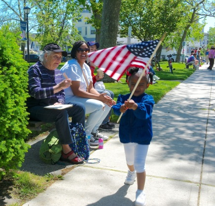 Memorial Day parade in Ocean Grove 2013.  Paul Goldfinger photo ©