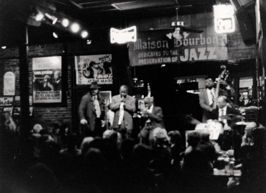 Bourbon Street, New Orleans. 1998. Paul Goldfinger photograph ©