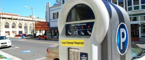 An A.Park meter.  Photo by the Asbury Park Sun.