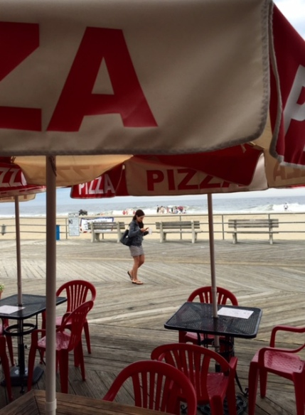 Asbury Park boardwalk. June, 2015. By Moe Demby,Blogfinger staff. ©