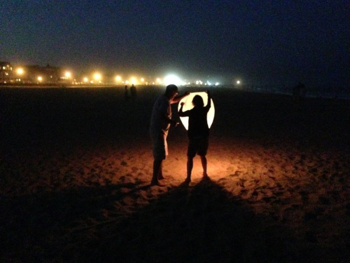 Ocean Grove beach. October, 2013.  Paul Goldfinger photo. ©