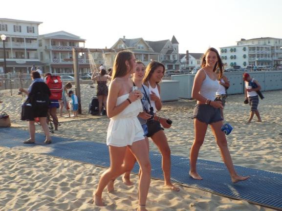 Ocean Grove Beach on Sunday, July 19, 2015.  By Jean Bredin, Blogfinger.net staff. ©