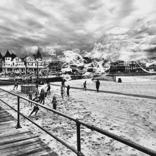 Ocean Grove beach. July, 2015.  ©  Blogfinger@verizon.net