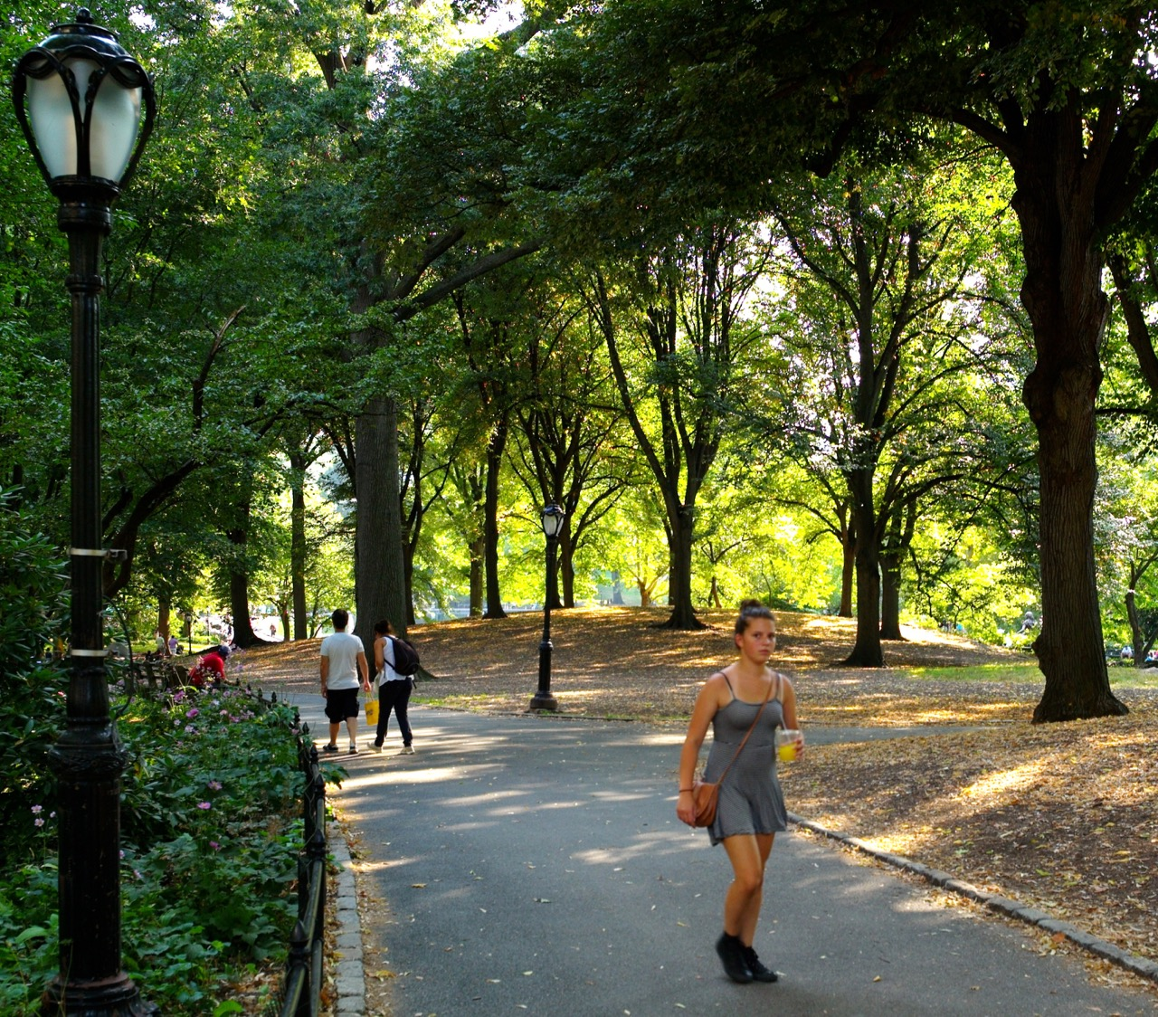 Cetral Park: Girls In Their Summer Clothes: Central Park