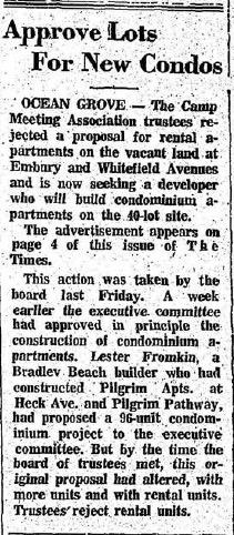 Ocean Grove Times, August 25, 1978.