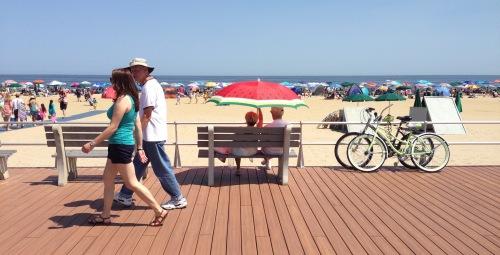 Ocean Grove boardwalk. 2014. Paul Goldfinger photo © Blogfinger.net
