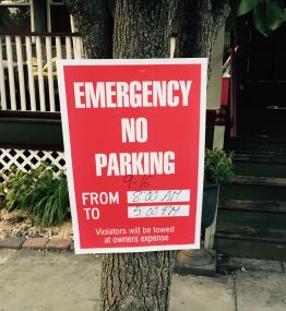 It starts 9/16  on West Heck near Benson Ave.   Blogfinger breaking news photo. ©