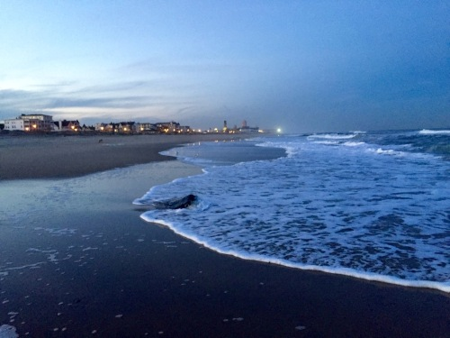 Ocean Grove at dusk. October 6, 2015.