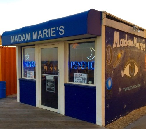 Madam Marie's. Asbury Park boardwalk. October 21, 2015 © Blogfinger.net