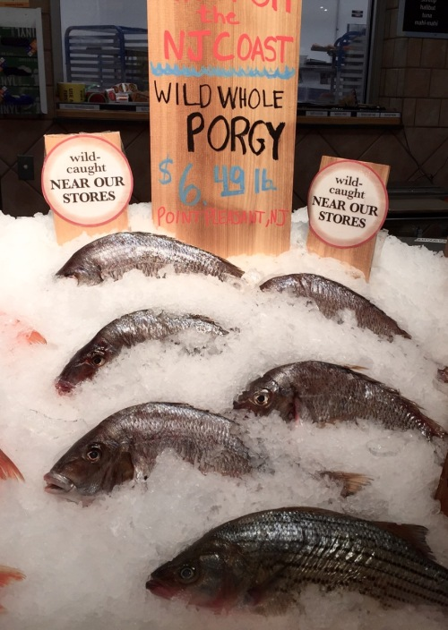 Wild caught Porgy are found in the Atlantic and the Long Island Sound. they are a very good eating fish. Skilled filleting is needed----lots of bones. Blogfinger photo 11/22/115