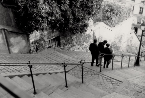 Montmartre, Paris (A large hill on the right bank) By Paul Goldfinger ©