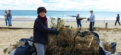 Cleanup after Sandy. 2012. Paul Goldfinger portrait. © Blogfinger.net
