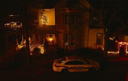 """On duty"" Christmas Eve c. 2013. Paul Goldfinger photo ©"