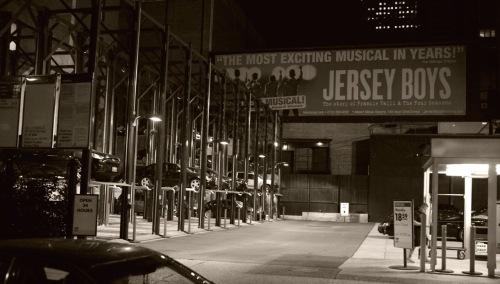 Mid-town. Theatre District. Paul Goldfinger photo. c. 2013. Blogfinger.net