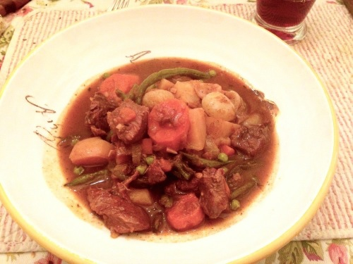Eileen's Beef Stew. Ocean Grove, NJ. Paul Goldfinger photo ©