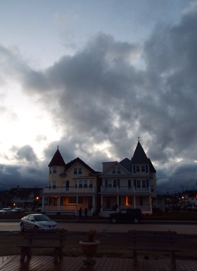 Ocean Avenue, Ocean Grove. By Jean Bredin, Blogfinger staff. © Feb. 16, 2016.