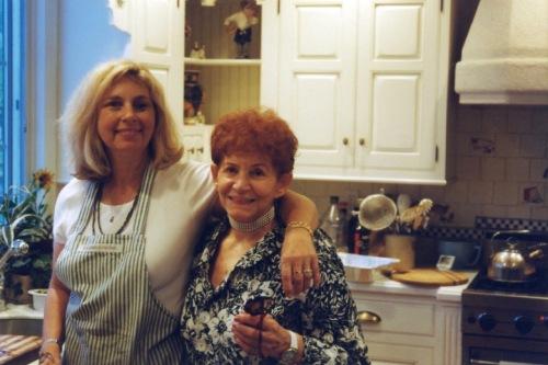 Eileen (left) and Myrna Goldfinger. Chester, NJ. c.1995.