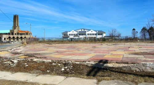 Welcome to the Ocean Grove North End Redevelopment zone. Blogfinger photo.