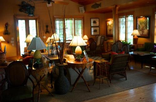 A favorite room----at the Gasparilla Inn, Boca Grande, Fla. Paul Goldfinger photo. ©