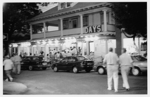 Days Ice Cream in Ocean Grove. Undated photo. Silver gelatin print by Paul Goldfinger ©