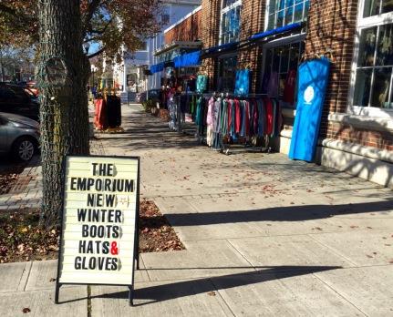 The Emporium, a successful Main Avenue business. Blogfinger photo.©