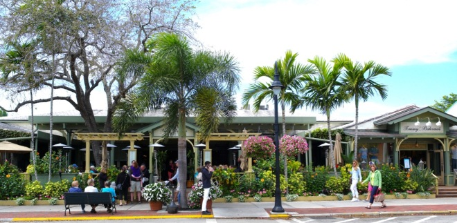 Tommy Bahama's flagship store and restaurant in Naples, Florida. Paul Goldfinger photo © March, 2016.