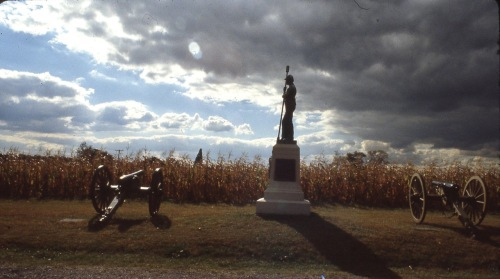 Gettysberg, Pennsylvania. The only artillery at that location was the 1st New York, Battery D. Paul Goldfinger photo ©