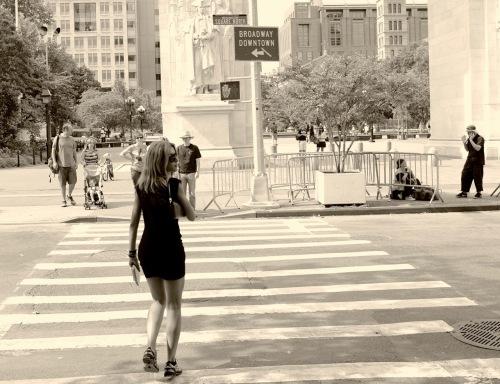 Washington Square, NYC. Paul Goldfinger photo. ©