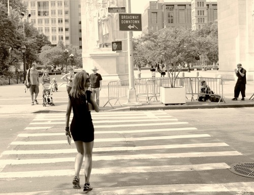 Washington Square, NYC. Paul Goldfinger photo. ©
