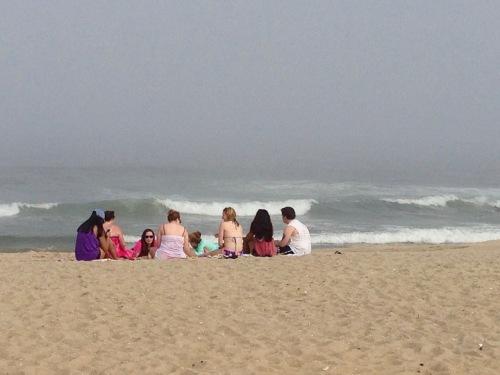 May 19, 2015. Ocean Grove Beach. Blogfinger photo ©