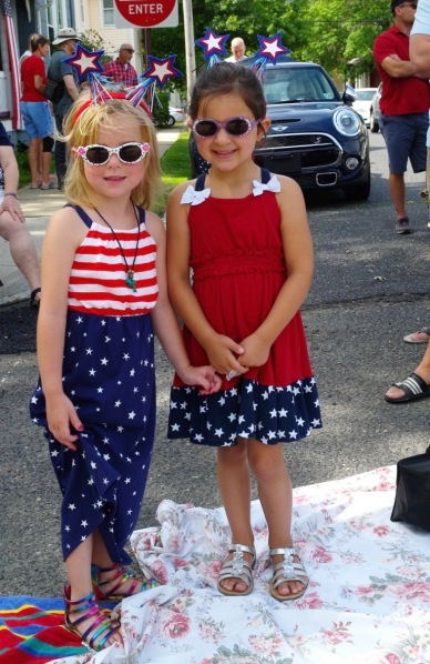 July 4, 2014, on Main Avenue along the Ocean Grove parade route. Paul Goldfinger photograph ©