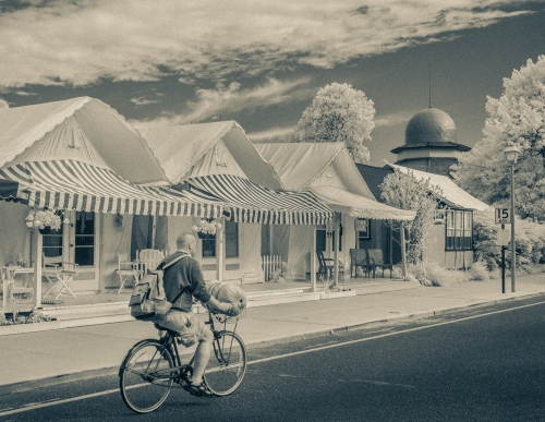 Ocean Grove Tent village. By Bob Bowné. Special to Blogfinger ©