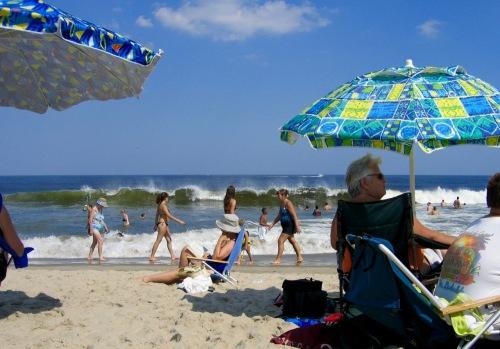 Ocean Grove beachfront.