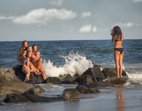 Ocean Grove friends. By Bob Bowné. Special to Blogfinger 2014. ©