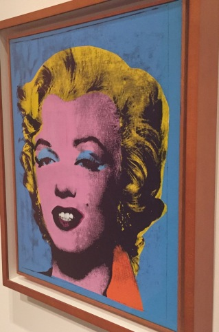 """Blue Marilyn"" by Andy Warhol, 1961."